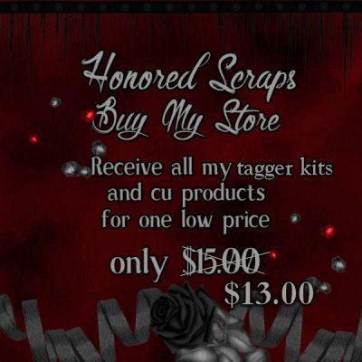 Honored Scraps Buy My Store